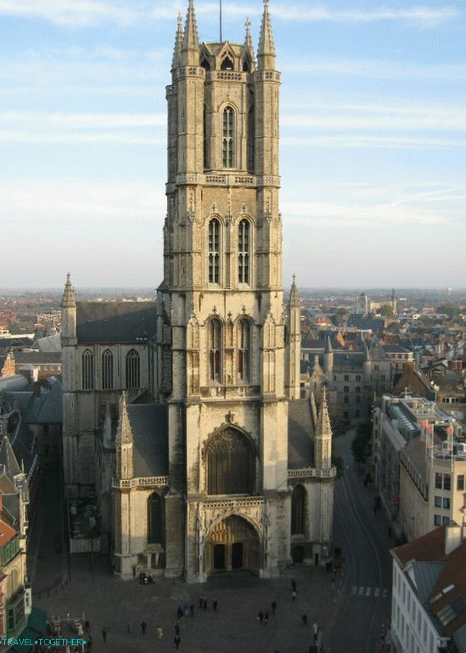 St. Bavo's Cathedral in Ghent
