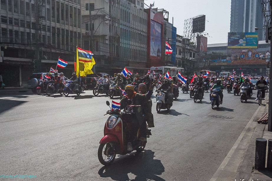 This is not a gathering of bikers, this is the movement of protesters