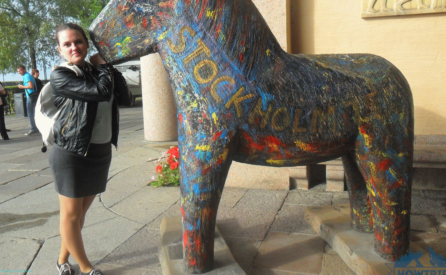 Daliclia horse in the town hall