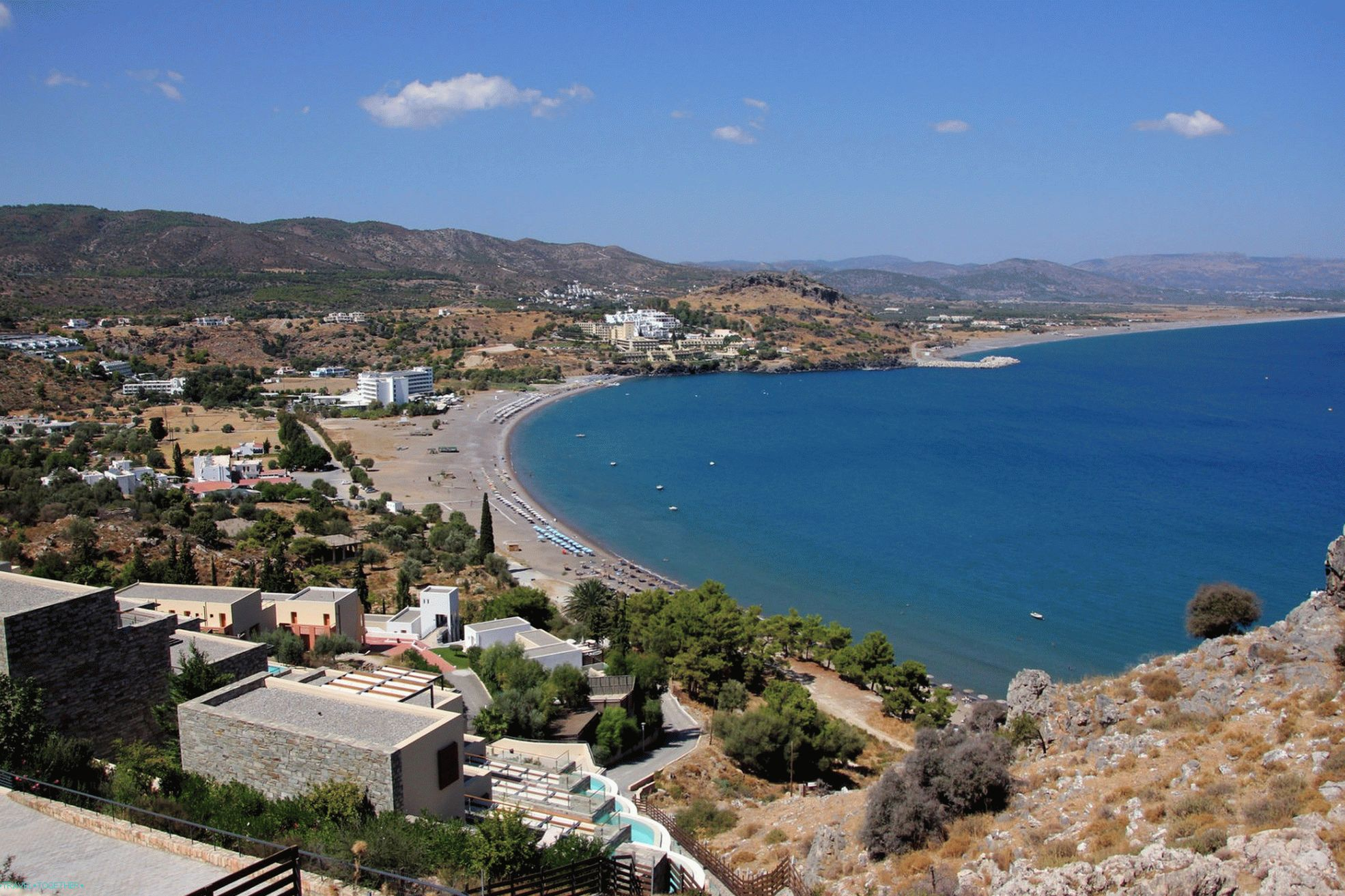 Faliraki on Rhodes: from a fishing village to a tourism center