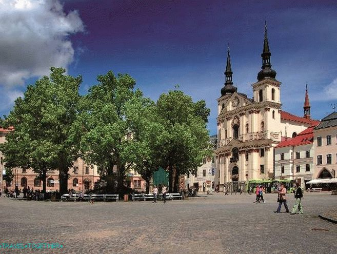 Jihlava - the historical center