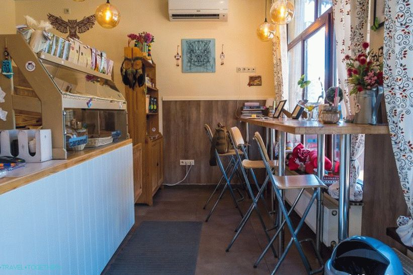 Coffee Shop Rolls in the Mountains - tube comfort and cocoa with hearts