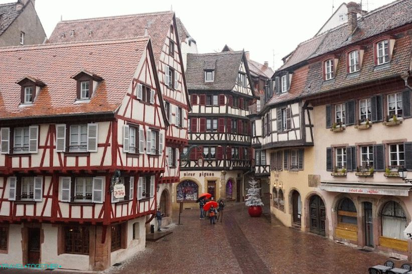 On the streets of Colmar