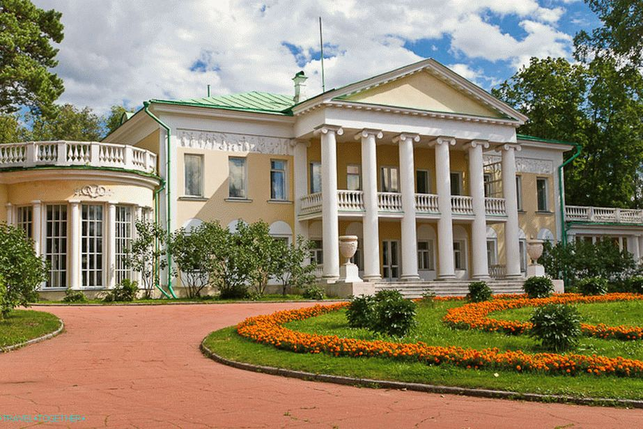 The main house of the Gorki estate