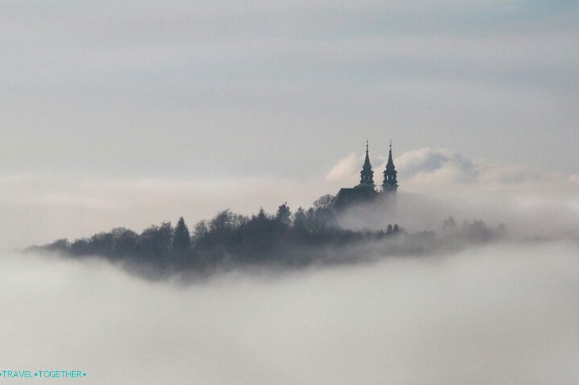 Linz in the Fog