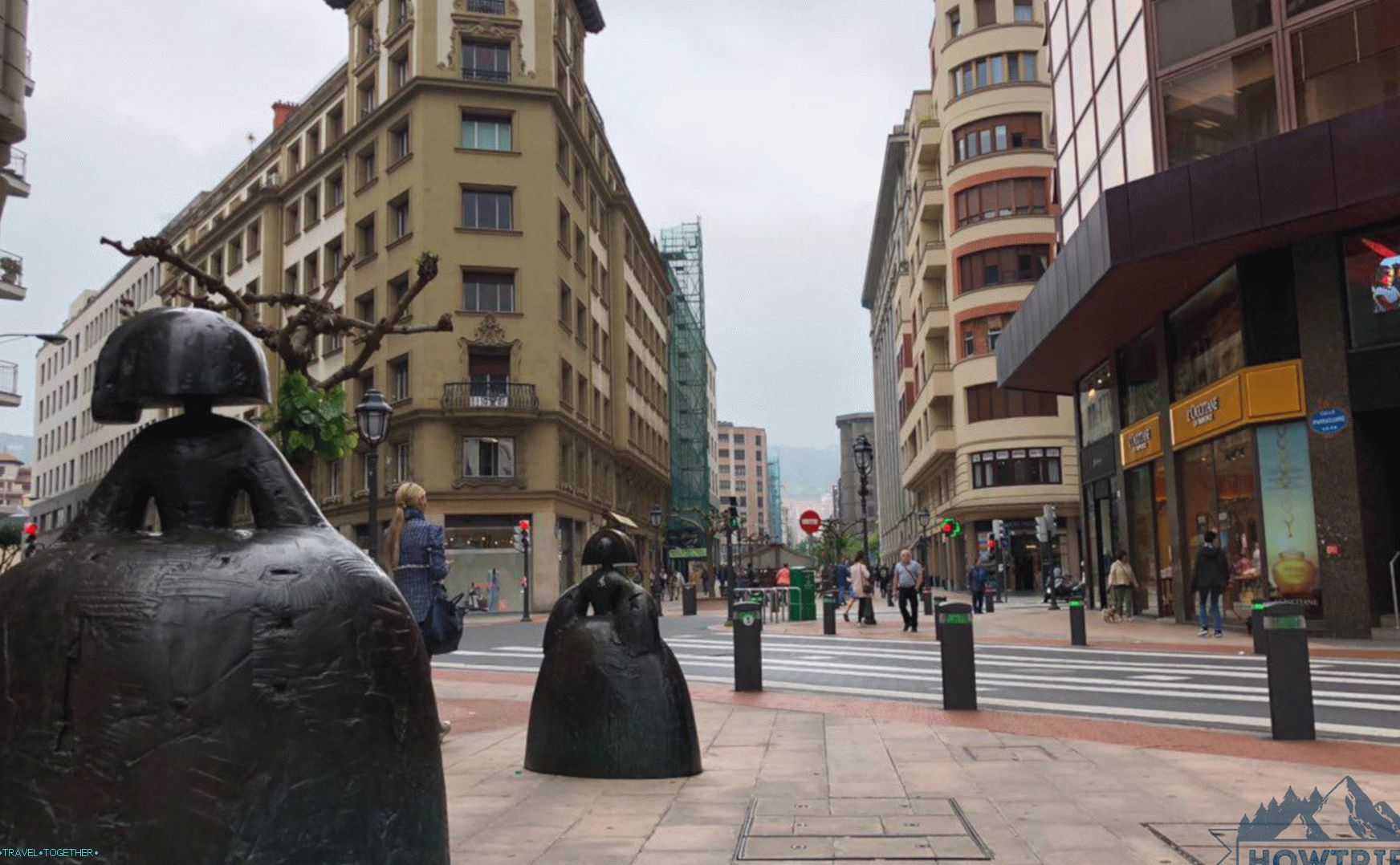 Bilbao (next to San Sebastian)