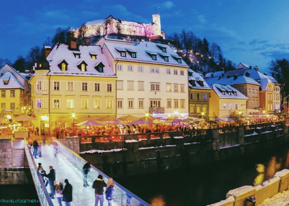 Ljubljana in winter