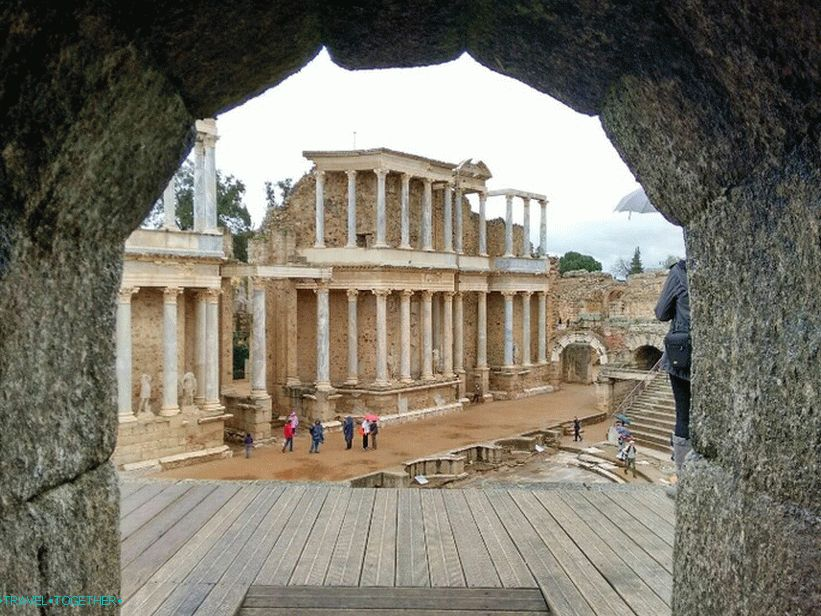 Roman Theater in Merida