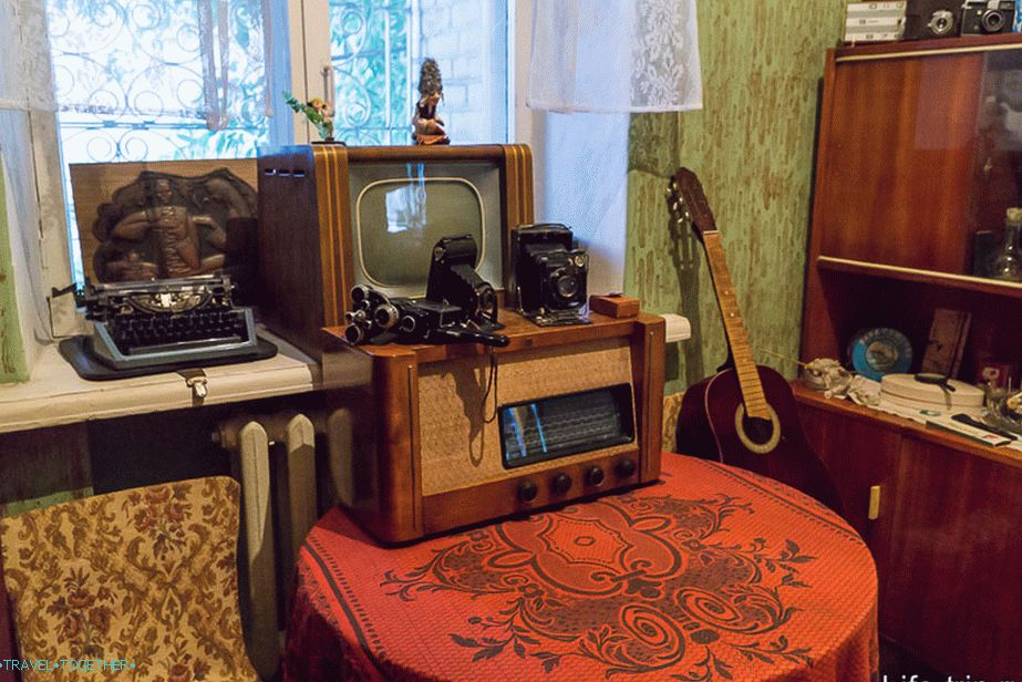 The room of the Komsomol girl, although the technique is more suitable for the guy