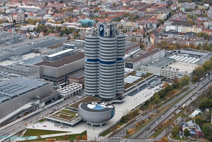 BMW Museum from a height
