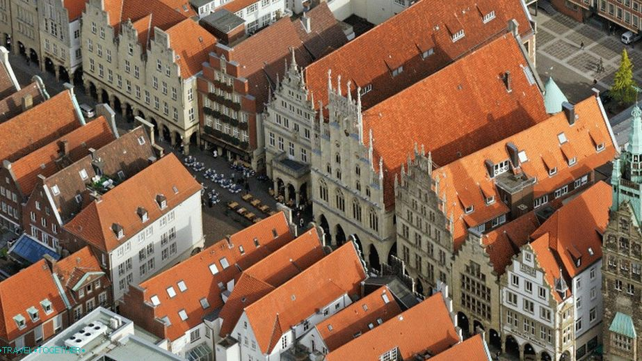 The historic center of Münster