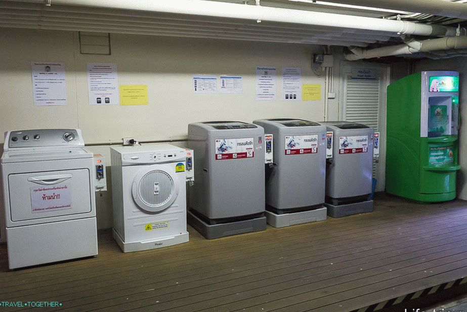 Washing machines for those who do not have a washer and water mat