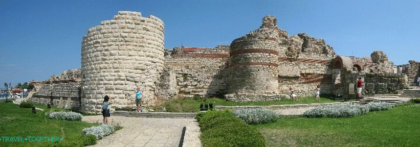 Ancient fortifications of Nessebar