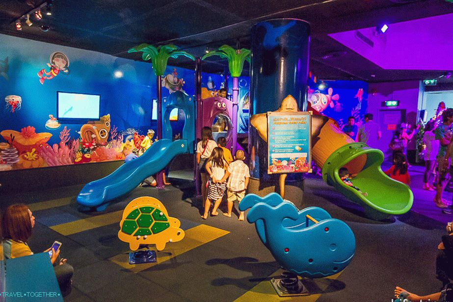 Children's room in the Oceanarium