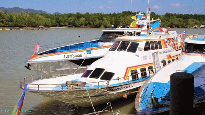 Ferries to Ko Lipe