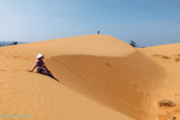 Phan Thiet, Red Dunes
