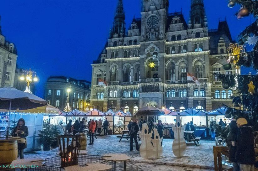 Edward Benes Square - the main square of Liberec