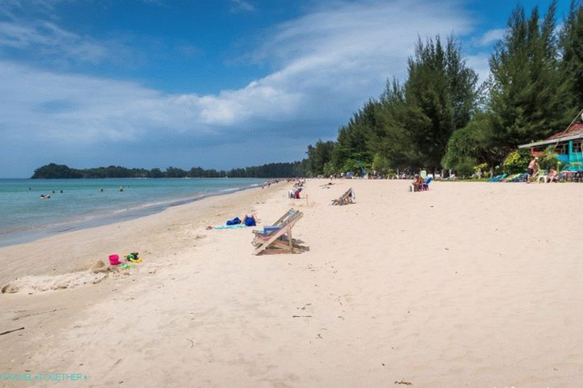 Klong Dao Beach on Lanta is a great family beach!