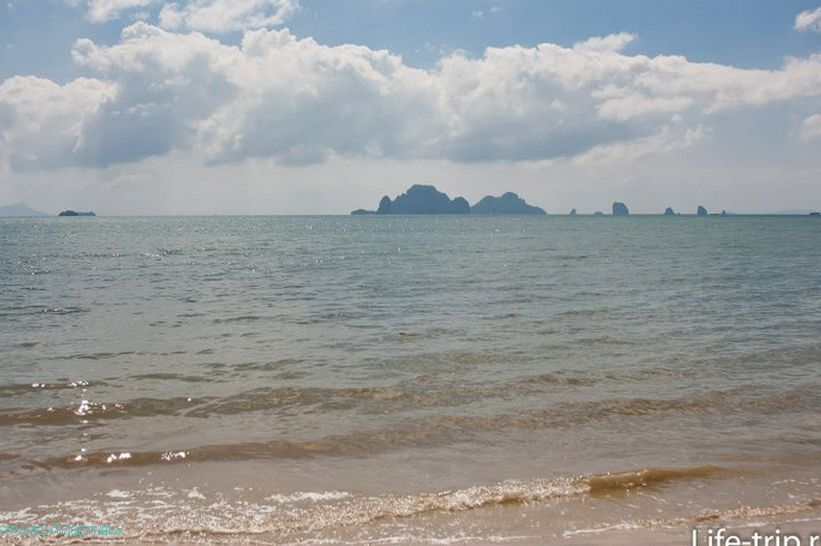 Pan Beach in Krabi is long and absolutely wild