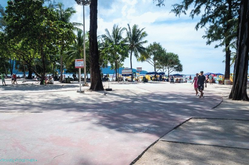 Patong Beach in Phuket is the noisiest