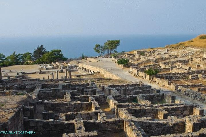 Rhodes, the ancient city of Kamiros