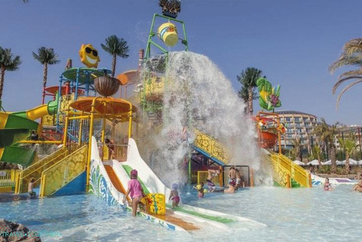 Holidays with children, Waterpark in Alanya