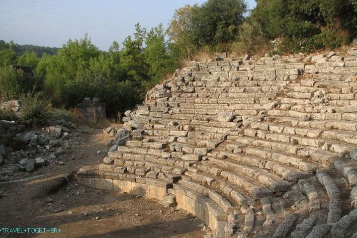Kemer, Ancient Antique City Phaselis