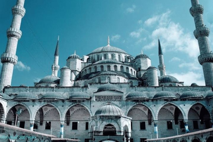 Weather in Istanbul in June - the Blue Mosque