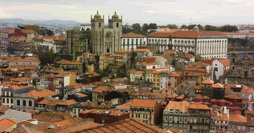 Cathedral in Porto