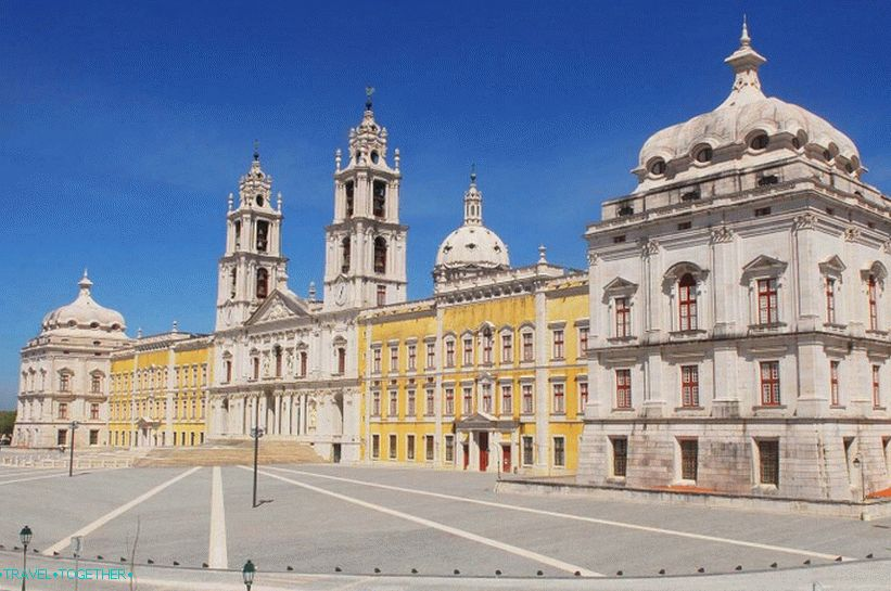 National Palace in Mafra
