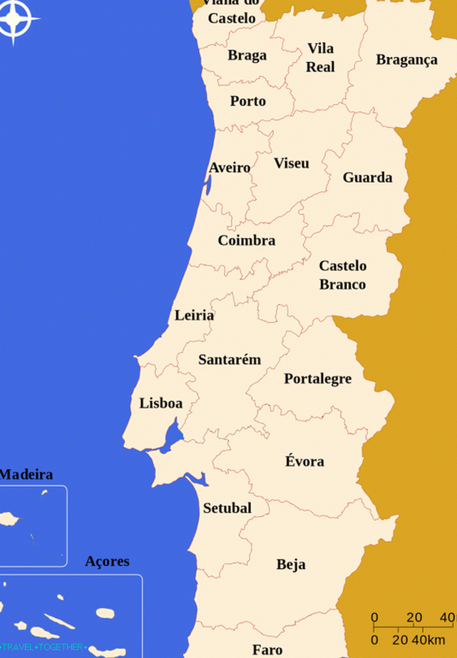 Administrative division of Portugal