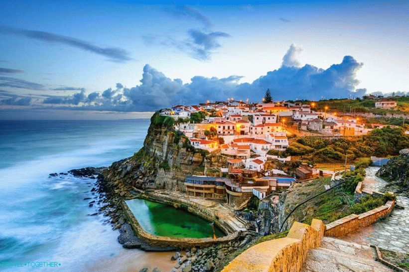 Seaside city in Portugal