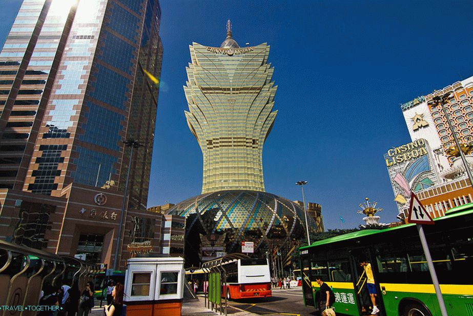 Cool casino and hotel Grand Lisboa