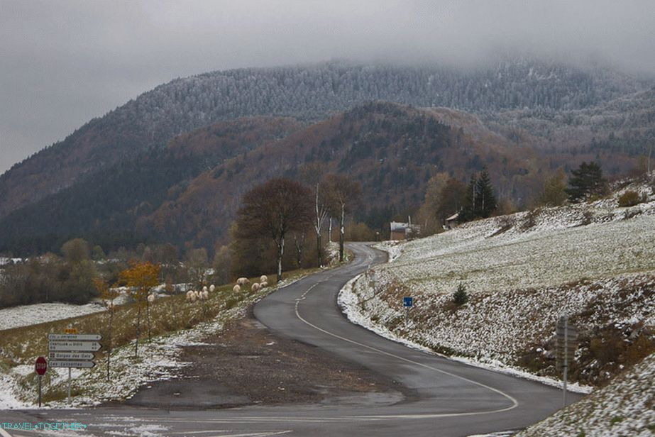 The Roads of France - Winter Landscapes in October