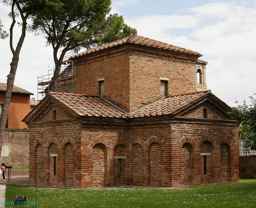 The Mausoleum of Galla Placidia