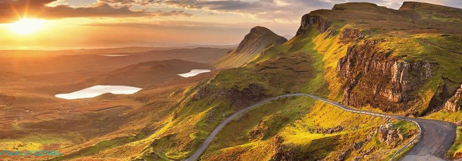 Mountain landscapes of Scotland