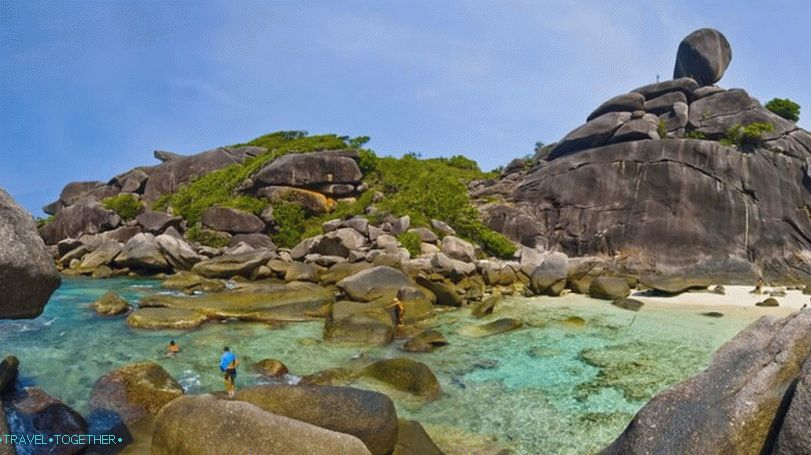 Tours to the Similan Islands