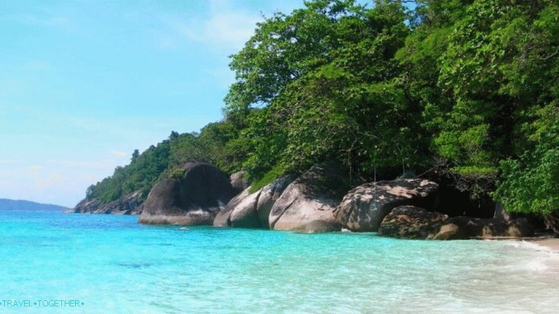 Rest on the Similan Islands