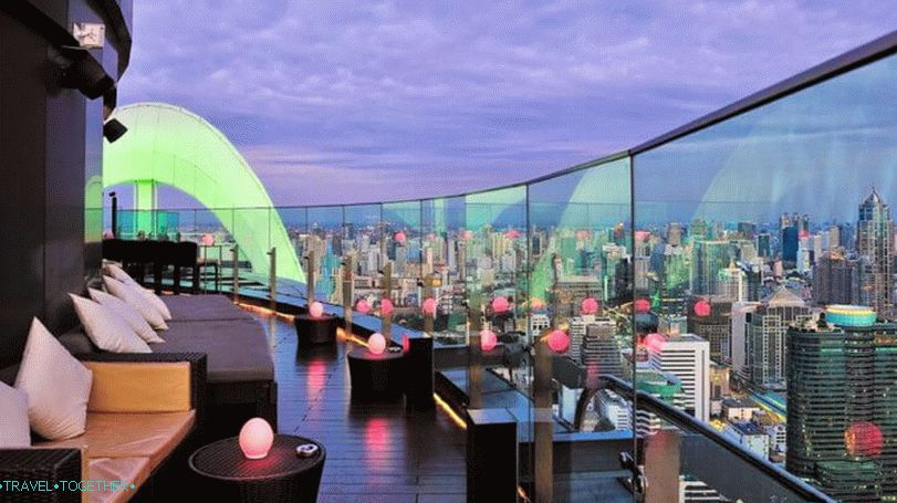 Bangkok viewing platforms - Sky Bar