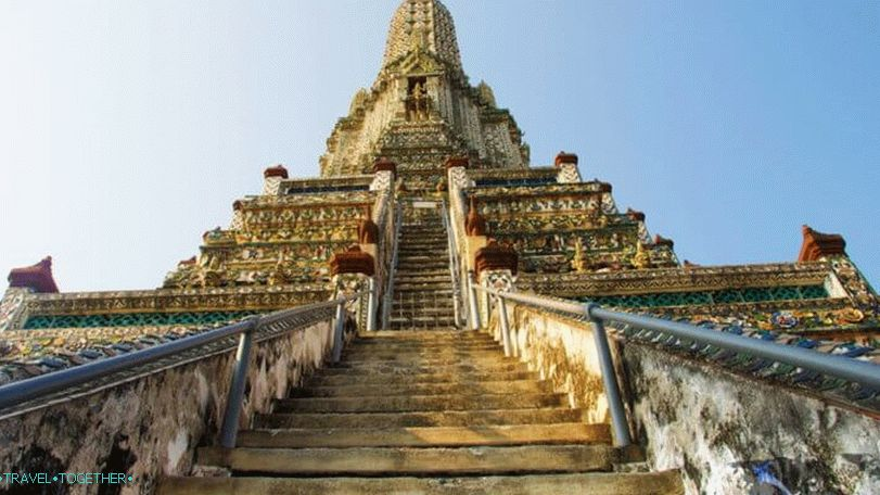 Bangkok viewing platforms - Wat Arun Temple