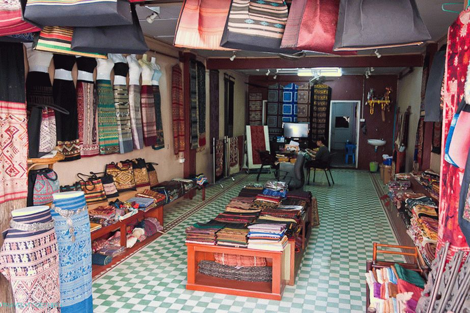 National Clothes Shop in Vientiane