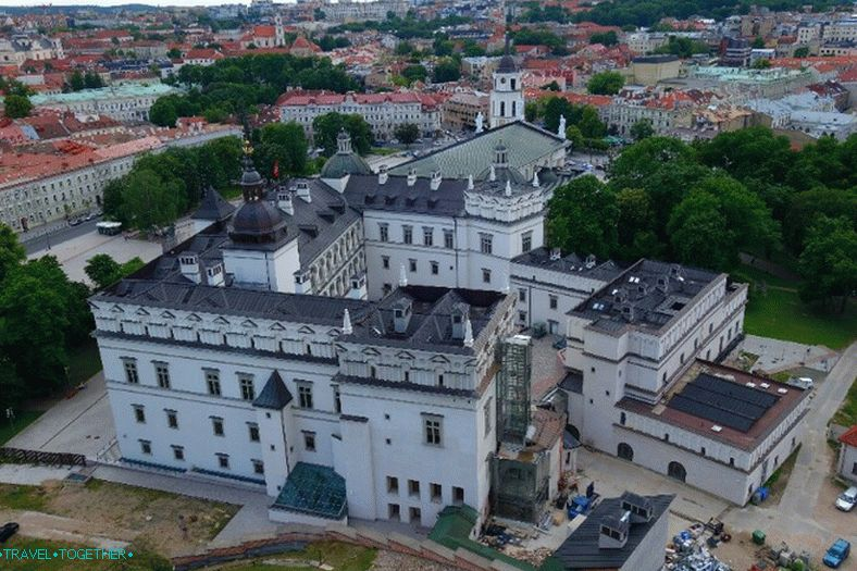 Palace of Lithuanian princes in Vilnius