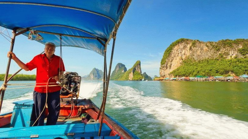 How to get to James Bond Island in Thailand
